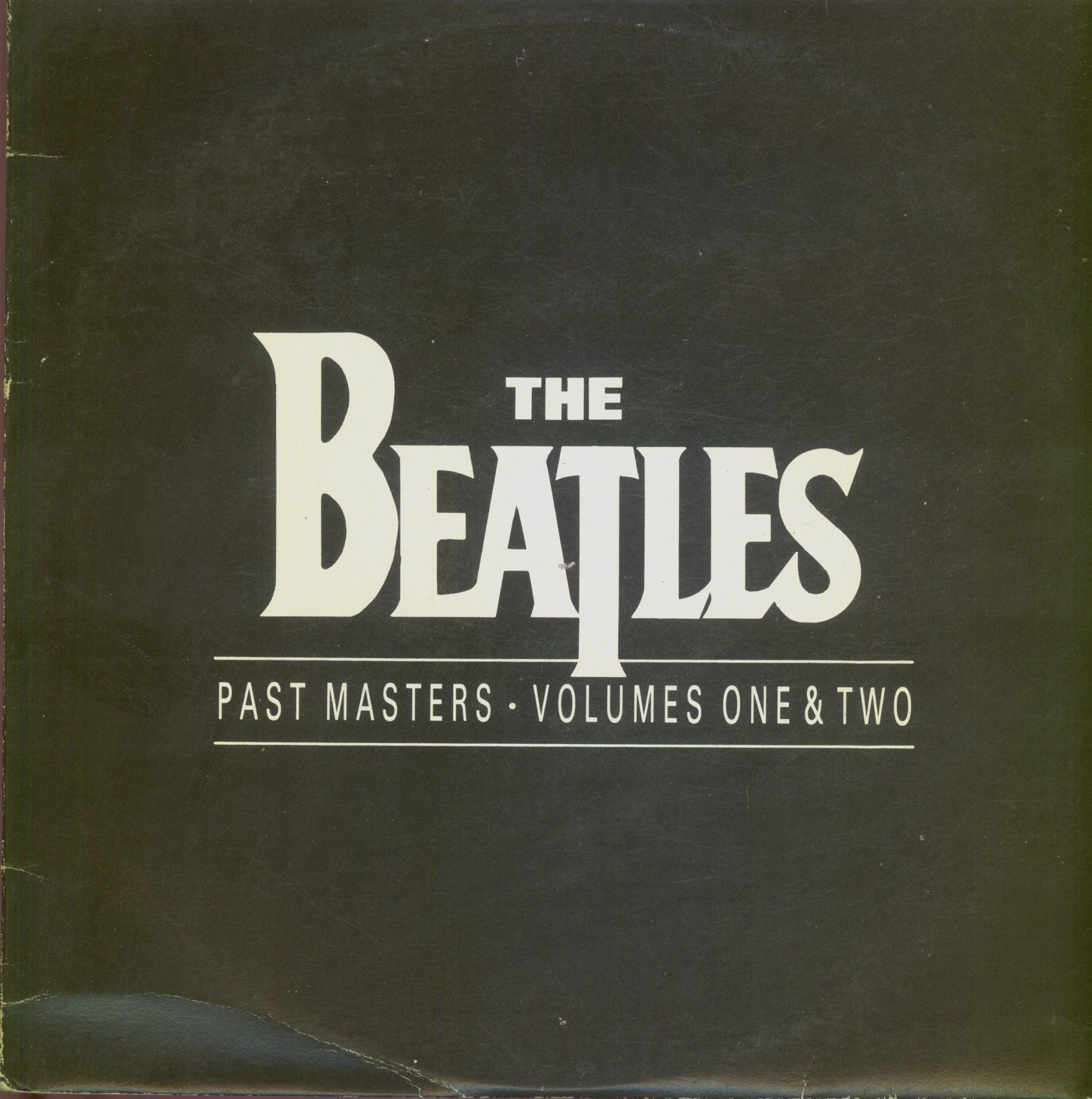 Gramofonska ploča Beatles Past Masters Volumes One & Two LSPAR-75123/4
