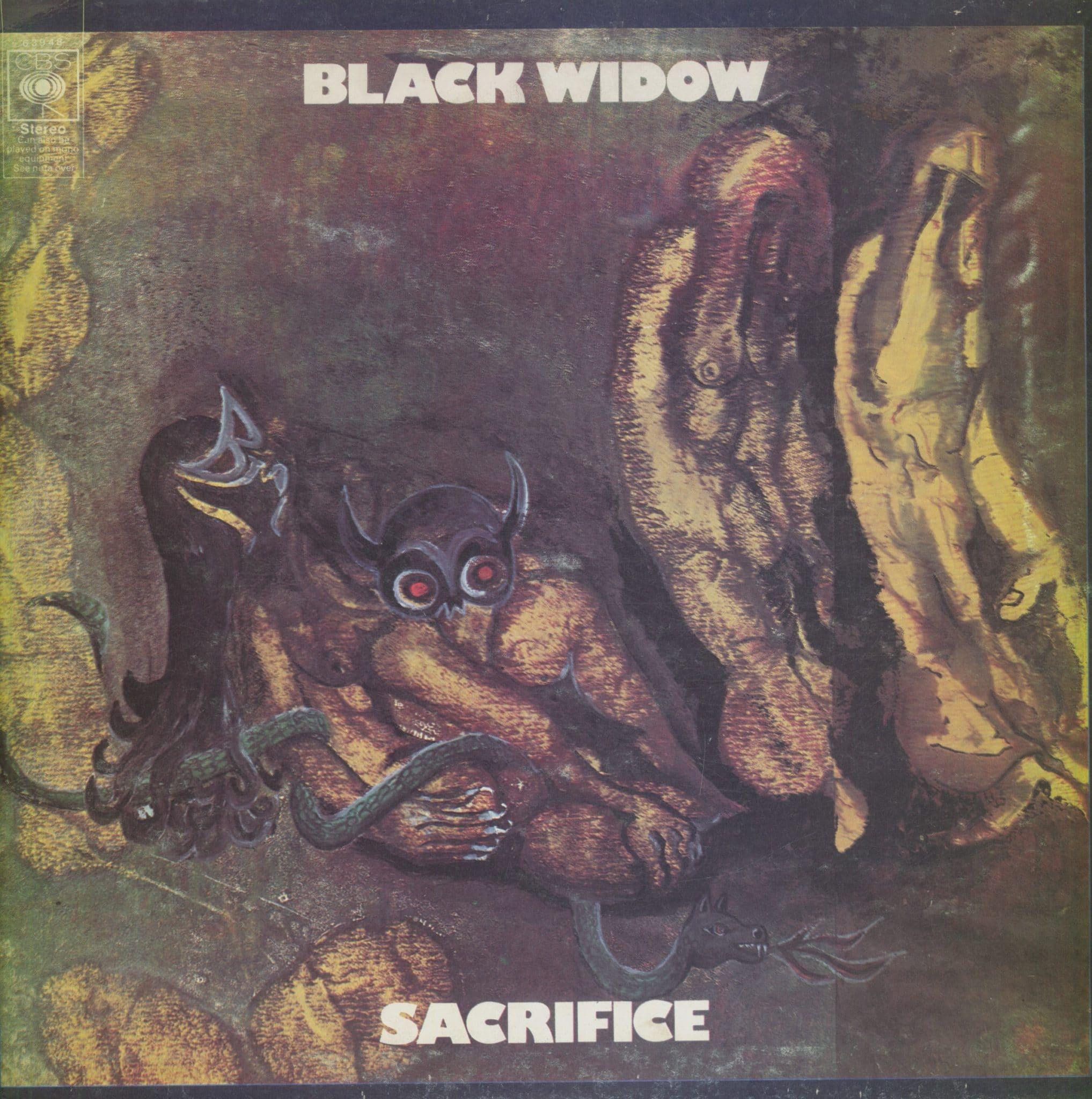Gramofonska ploča Black Widow Sacrifice 63948