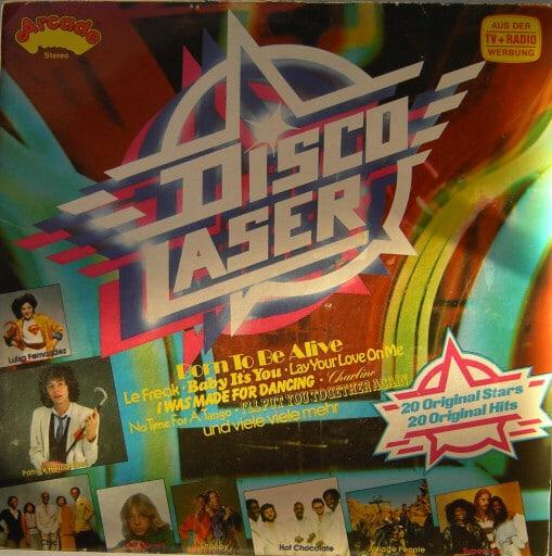 Gramofonska ploča Disco Laser Disco Laser ADE G 62