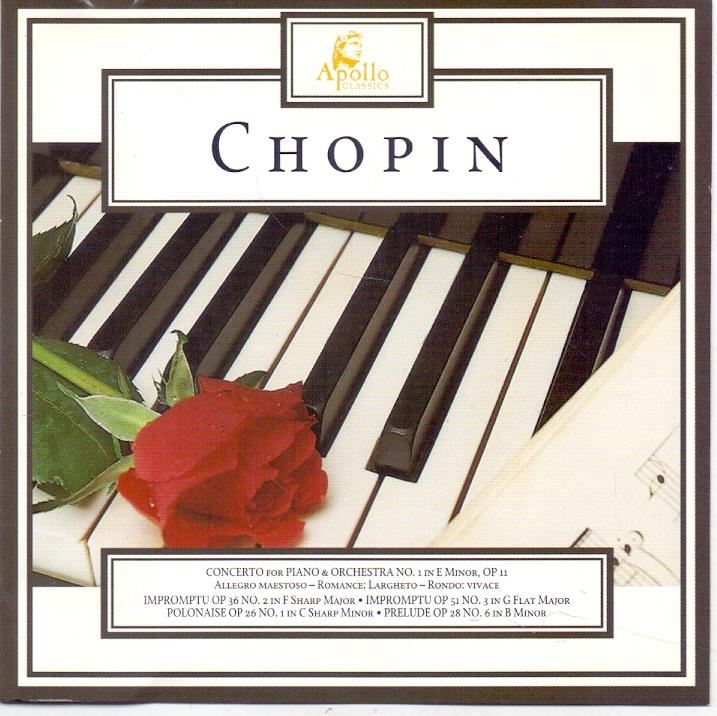 Chopin Concerto for Piano & Orchestra No. 1 in E Minor, Op 11