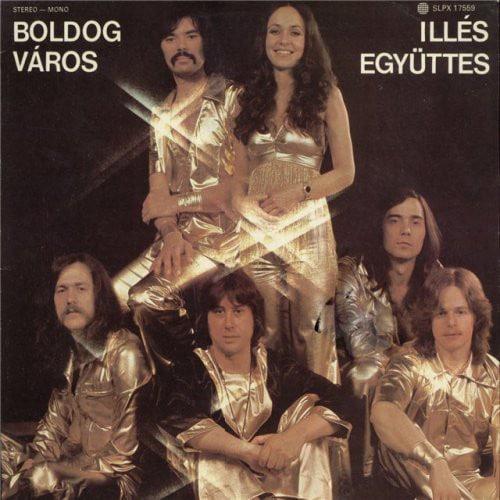 Gramofonska ploča Illes Egyuttes Boldog Varos SLPX 17559