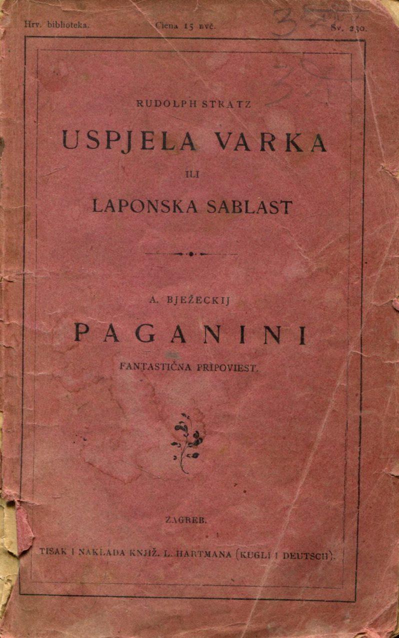 Uspjela varka iil Laponska sablast Rudolf Stratz
