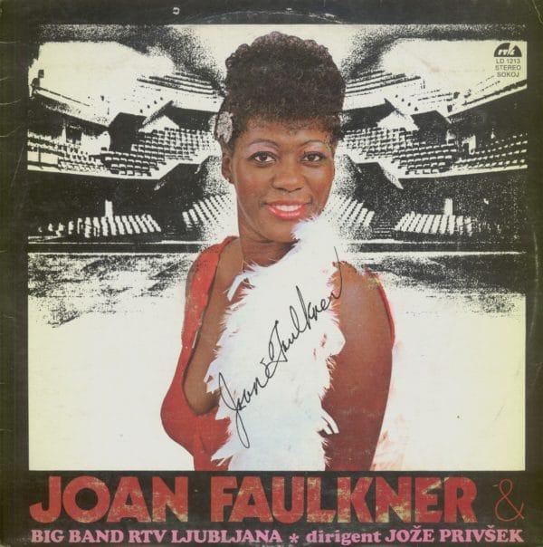 Gramofonska ploča Joan Faulkner & Big Band RTV Ljubljana Dirigent Jože Privšek Joan Faulkner LD 1213