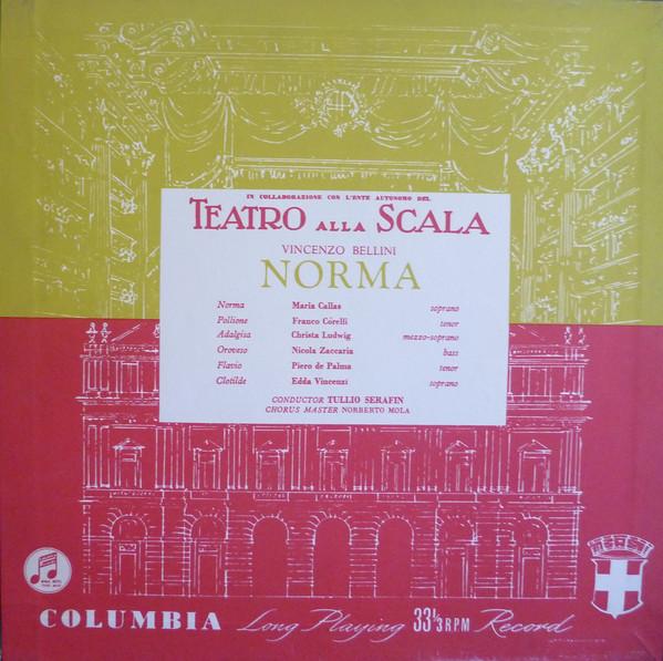 Gramofonska ploča Vincenzo Bellini / Maria Meneghini Callas... Norma LSC-70708/10