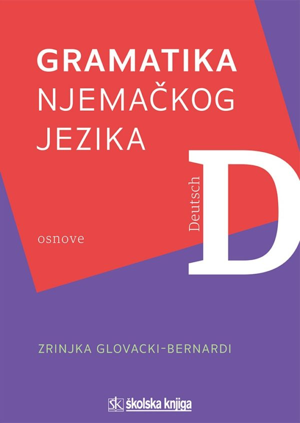 Gramatika njemačkog jezika Zrinjka Glovacki-Bernardi