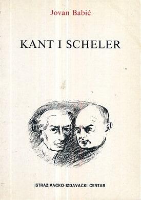 Kant i Scheler Jovan Babić