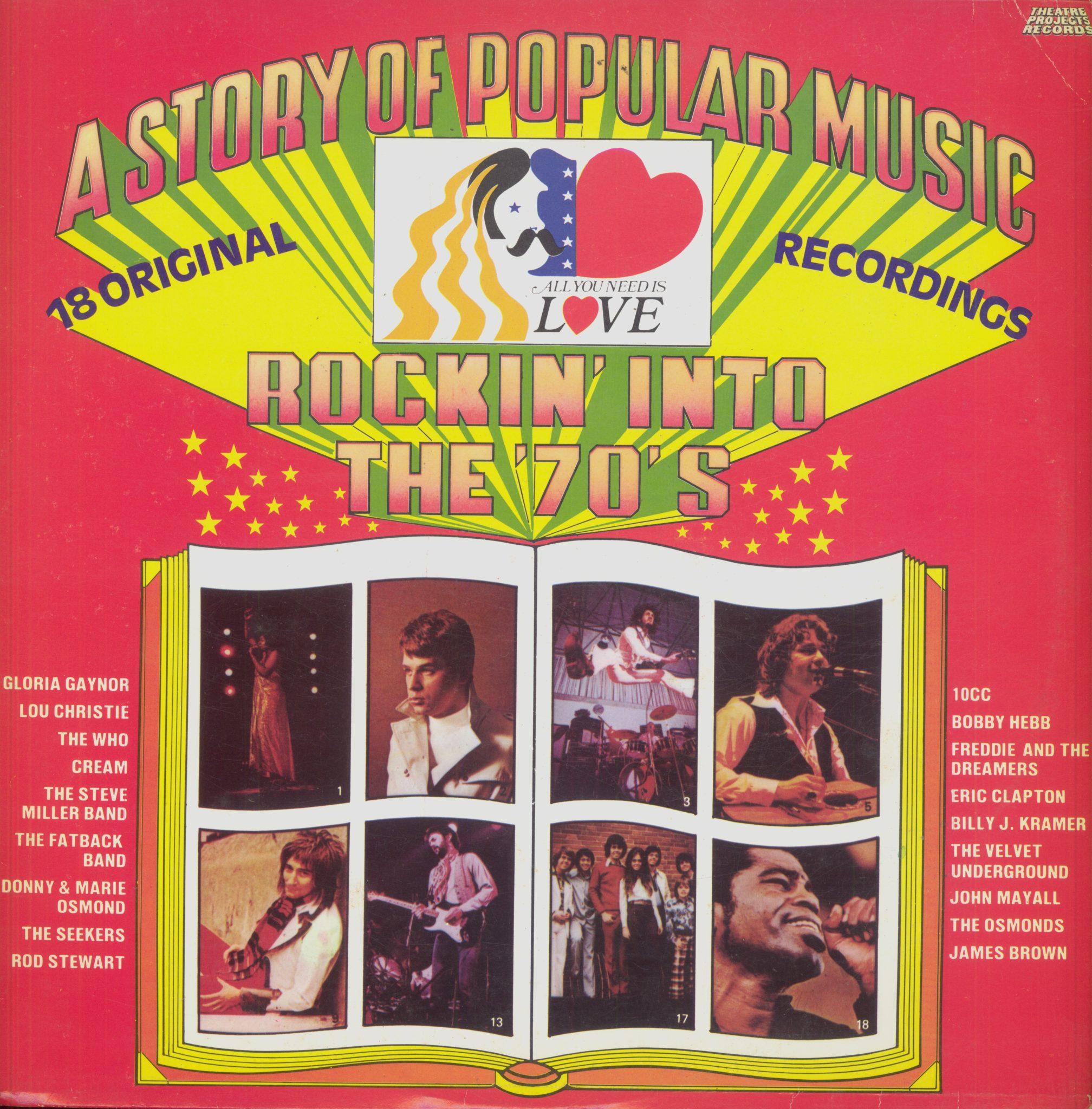 Gramofonska ploča A Story Of Popular Music - Rockin' Into The '70's  Gloria Gaynor / Lou Christie / The Who... LP 5742