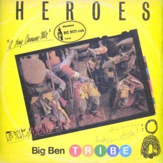 Gramofonska ploča Big Ben Tribe Heroes ZR 120