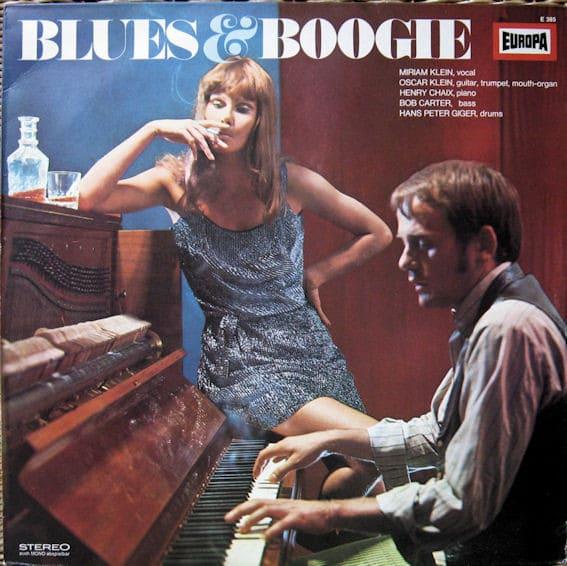 Gramofonska ploča Miriam Klein  Blues & Boogie E 385