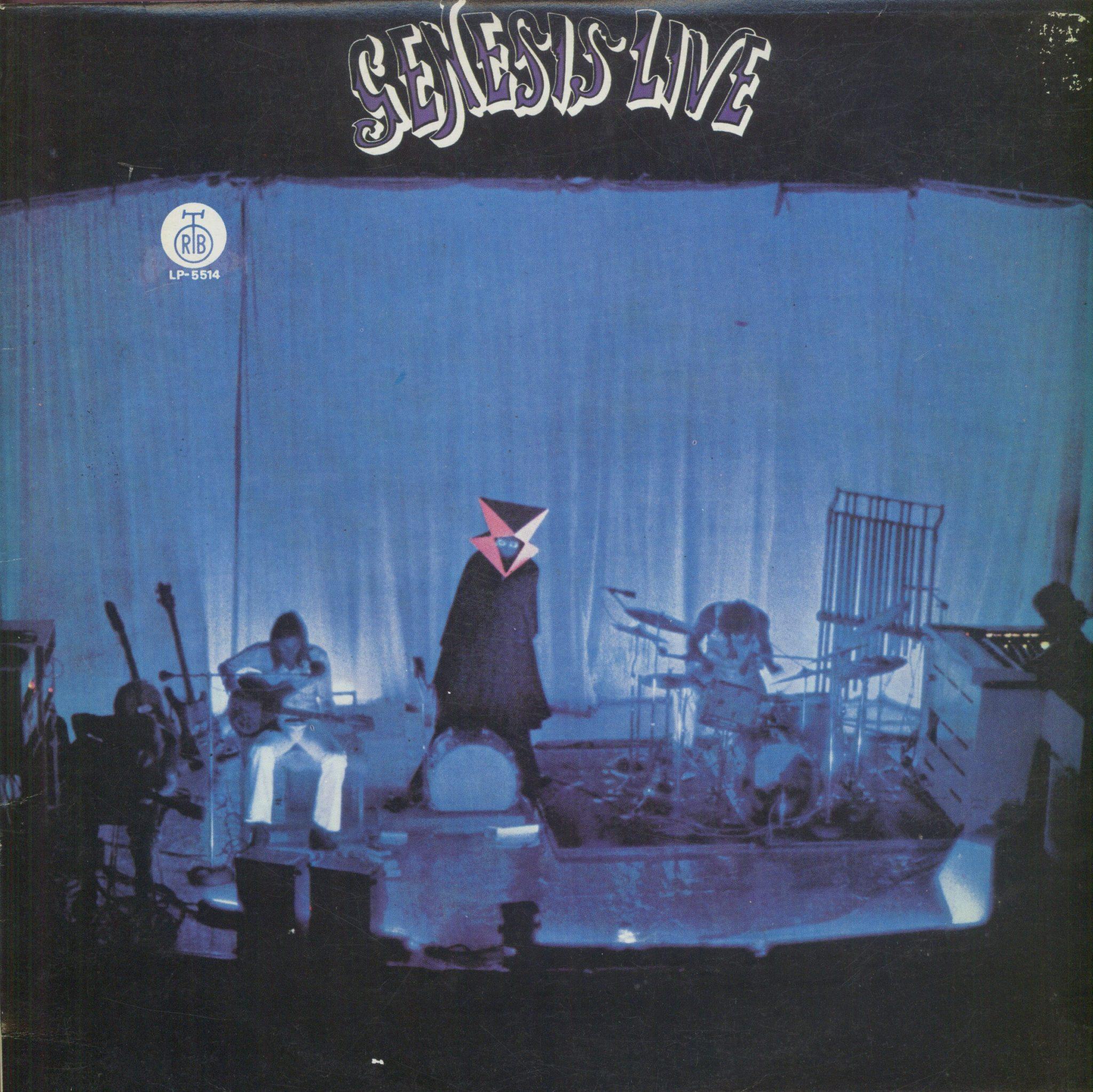 Gramofonska ploča Genesis Live LP 5514