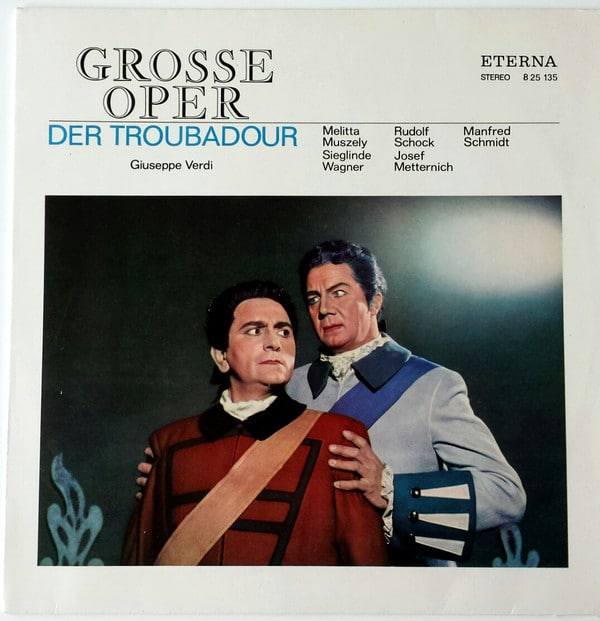 Gramofonska ploča Der Troubadour - Querschnitt Giuseppe Verdi 8 25 135