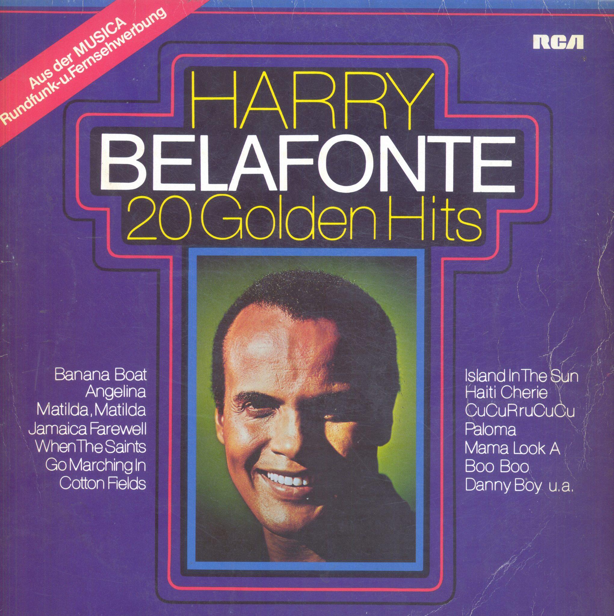 Gramofonska ploča Harry Belafonte 20 Golden Hits PL 42338