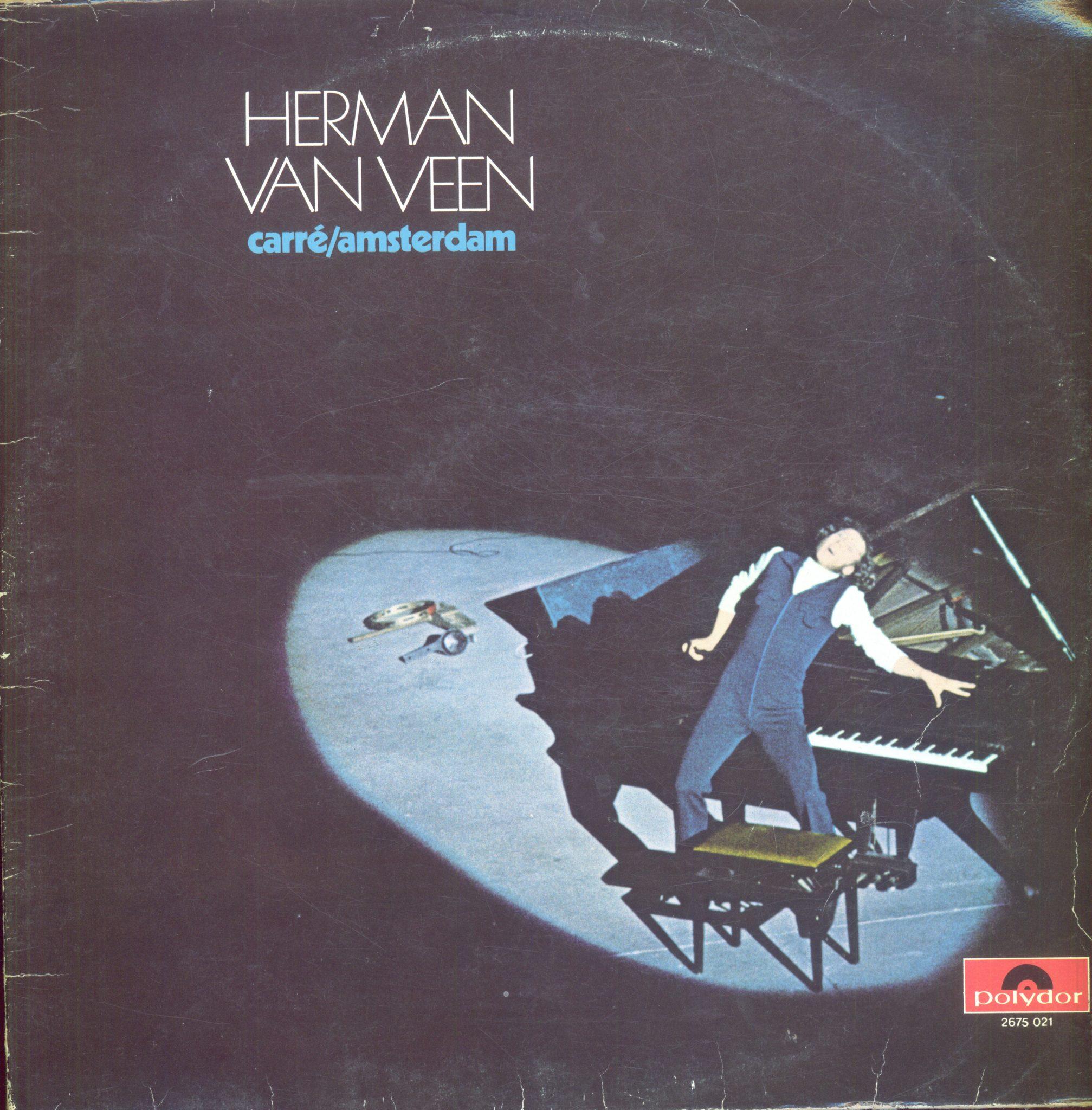 Gramofonska ploča Herman van Veen Carré/Amsterdam 2675 021