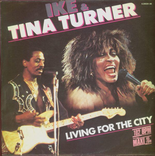 Gramofonska ploča Ike & Tina Turner Living For The City / Push 6.20534