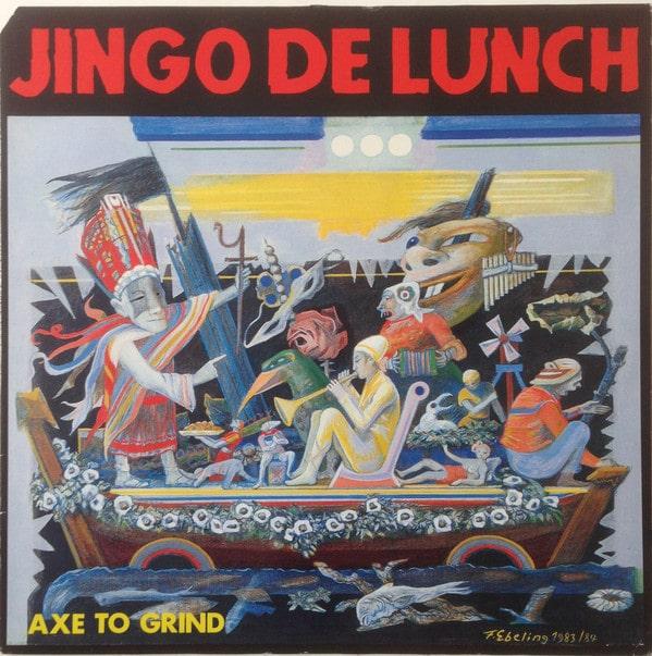 Gramofonska ploča Jingo De Lunch  Axe To Grind SPV 08-6802