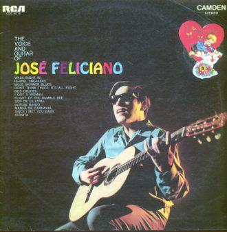 Gramofonska ploča José Feliciano The Voice And Guitar Of José Feliciano CDS 6016