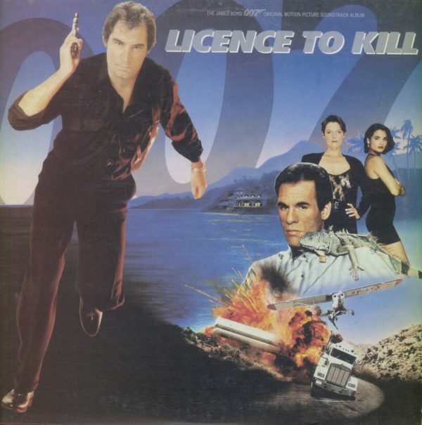 Gramofonska ploča Licence To Kill - The James Bond 007 Original Motion Picture Soundtrack Album Gladys Knight / Ivory / Tim Feehan / National Philharmonic Orchestra... LP-7 2 02502 2