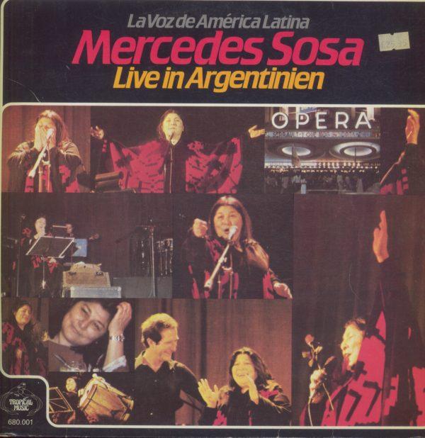 Gramofonska ploča Mercedes Sosa Live In Argentinien 680001