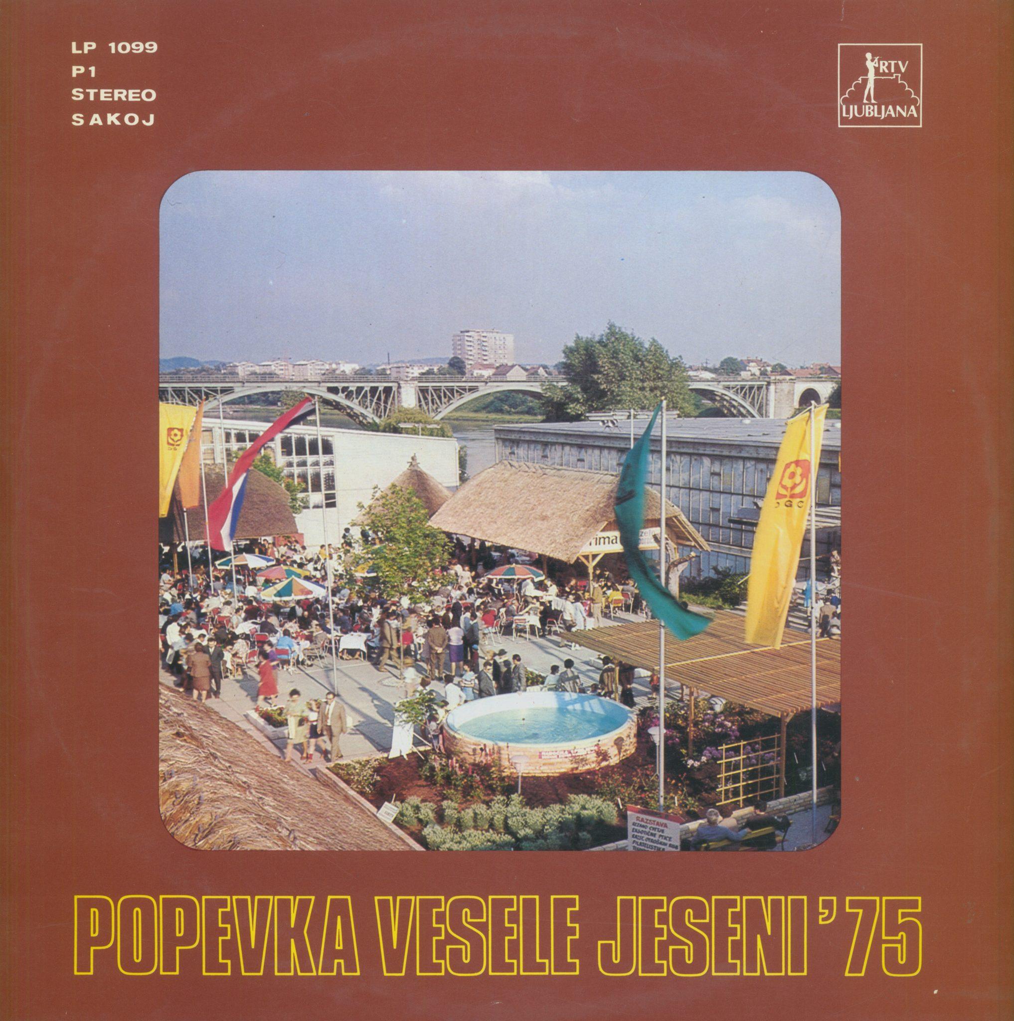 Gramofonska ploča Popevka Vesele Jeseni 75 New Swing Quartet /Vladimir Samec / Marjetka Falk... LP 1099
