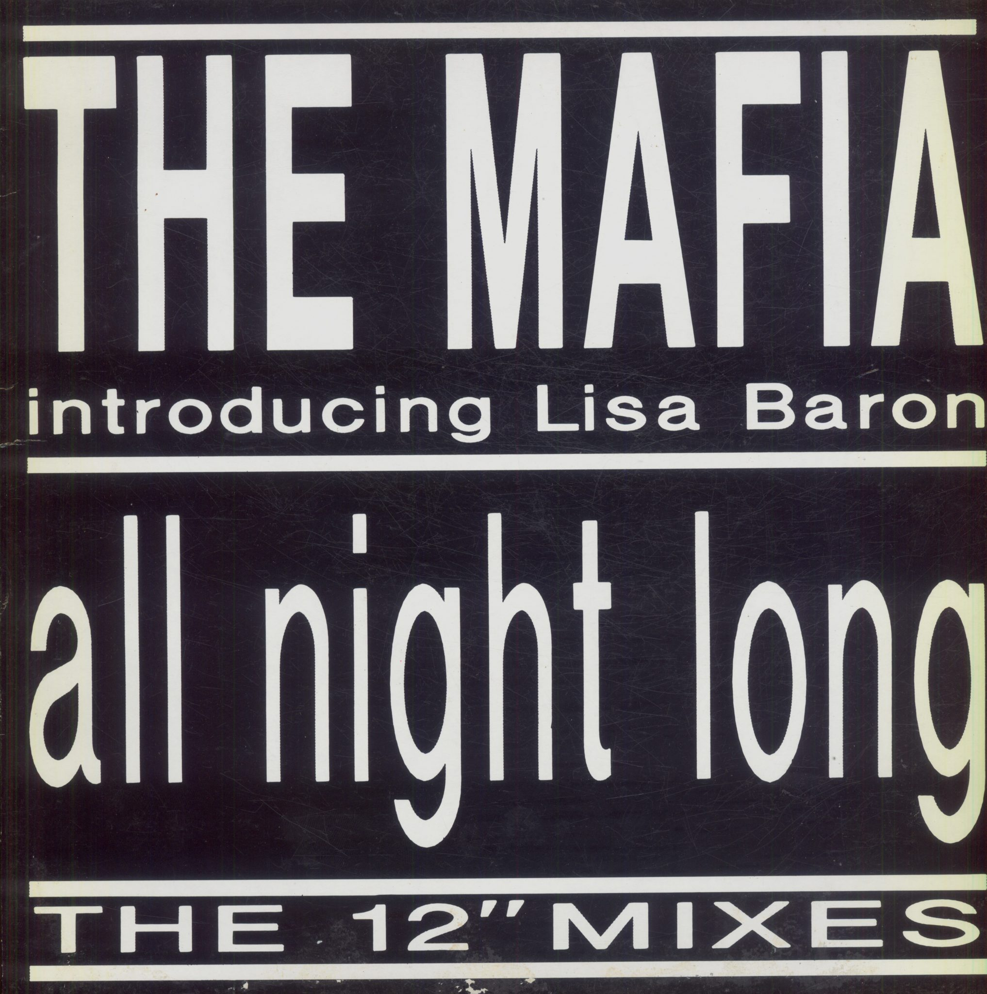 Gramofonska ploča Mafia Introducing Lisa Baron All Night Long MMX 1