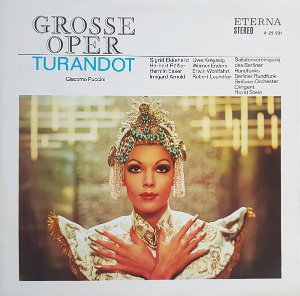 Gramofonska ploča Turandot (Opernquerschnitt) Giacomo Puccini / Berliner Rundfunk-Sinfonie-Orchester / Horst Stein 8 25 231