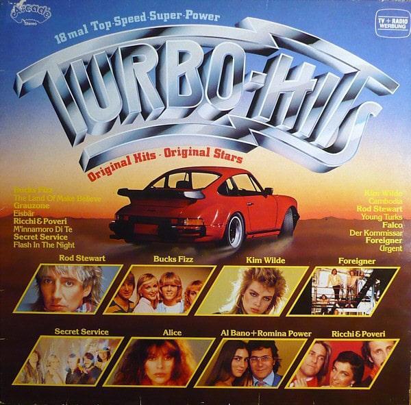 Gramofonska ploča Turbo Hits Bucks Fizz / Falco / Rod Stewart... ADE G 146