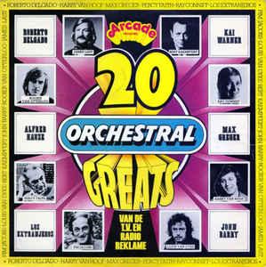 Gramofonska ploča 20 Orchestral Greats Rogier van Otterloo / James Last / John Barry... ADE H6