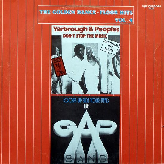 Gramofonska ploča Yarbrough & Peoples / The Gap Band The Golden Dance-Floor Hits Vol. 4 ZYX 5526