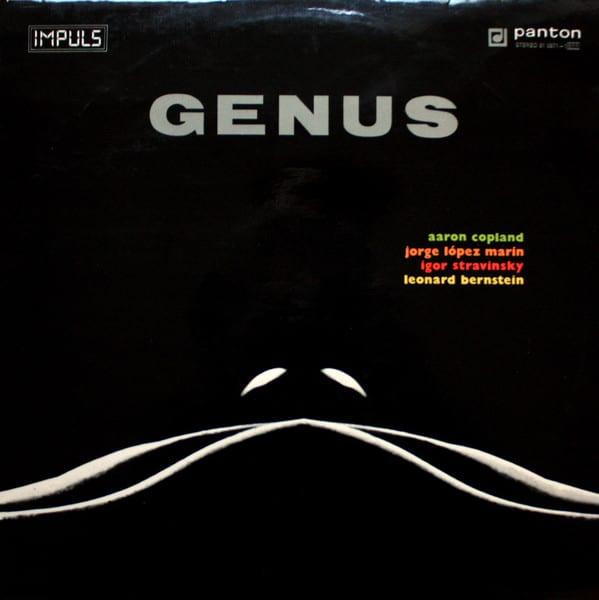 Gramofonska ploča Aaron Copland / Jorge López Marín / Igor Stravinsky / Leonard Bernstein Genus 81 0671-1011