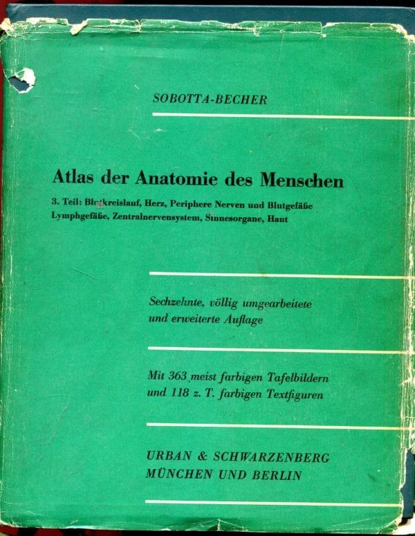 Atlas der Anatomie des Menschen Sobotta-Becher