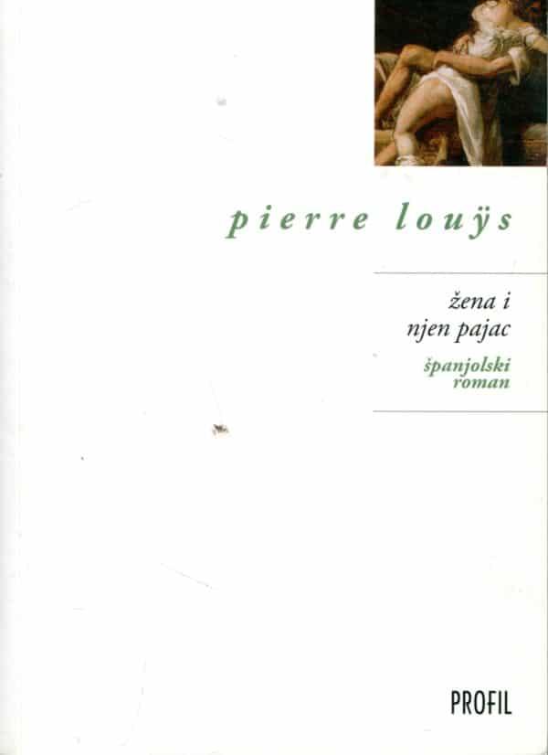 Žena i pajac Louys Pierre
