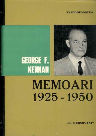 Memoari 1925.-1950. George F. Kennan