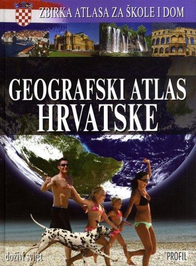 Geografski atlas Hrvatske Drago Glamuzina