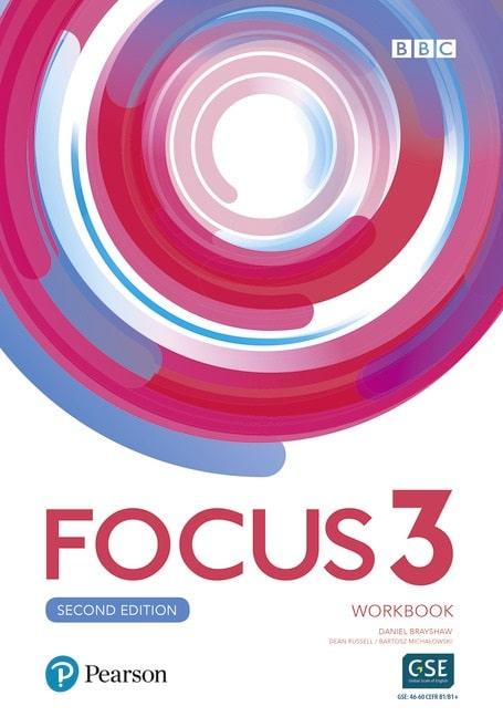 Focus 3 Workbook Second Edition autora Daniel Brayshaw, Anna Osborn, Amanda Davies
