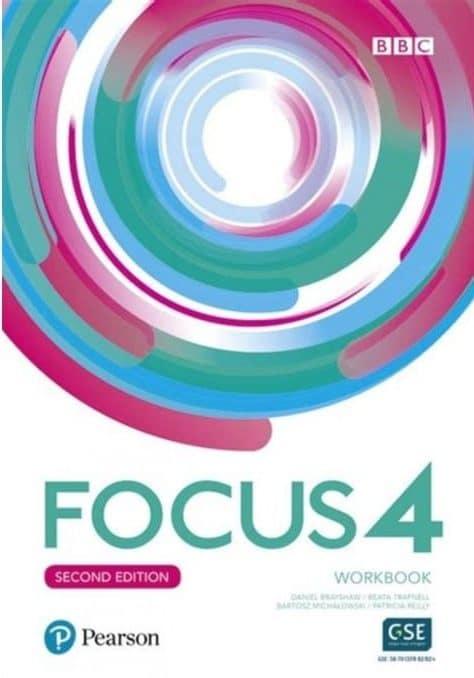 Focus 4 second edition workbook autora Daniel Brayshaw, Angela Bandis, Bartosz Michalowski, Beata Trapnell, David Byrne, Amanda Davies