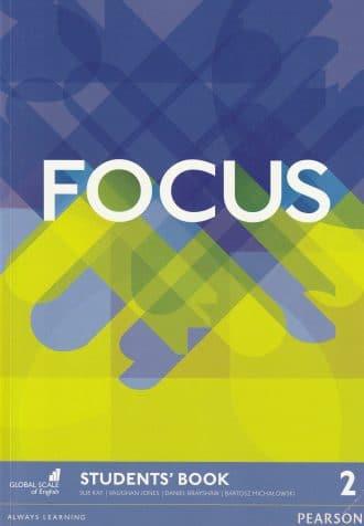 FOCUS  2nd EDITION : students book za 4. razred gimnazija, drugi strani jezik (9. godina učenja); autora Sue Key, Vaughan Jones, Daniel Brayshaw, Bartosz Michalowski